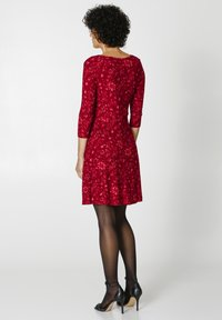 Indiska - BERRY  - Jersey dress - red - 2