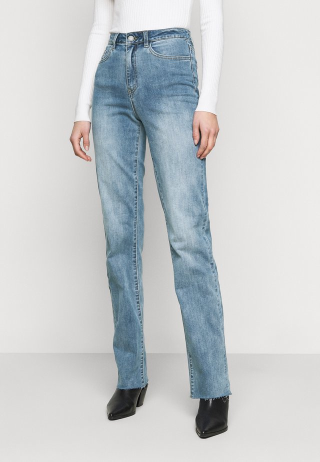 OBJWIN - Jeans Skinny Fit - medium blue denim