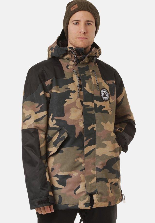 MOZINE - Veste de snowboard - light/pastel brown