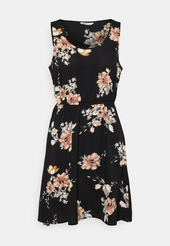 ONLNOVA SARA DRESS - Day dress - black