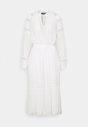 SWINTON SWISS DRESS - Kjole - white