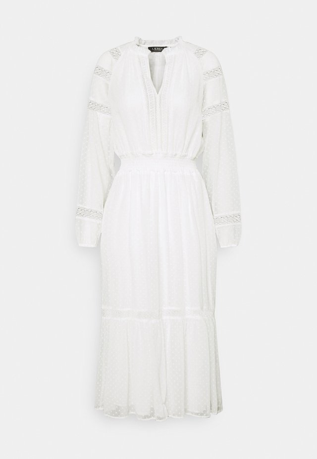 SWINTON SWISS DRESS - Vestito estivo - white