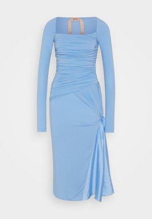 ABITO - Jersey dress - cielo