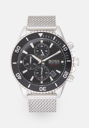 ADMIRAL - Chronograph watch - silver-coloured/black