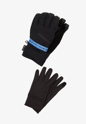 GORE 2IN1 - Fingerhandschuh - true black