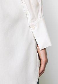 Selected Femme - SLFIDA LONG SHIRT  - Camisa - snow white - 4