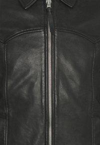 Superdry - INDIE CLUB JACKET - Bunda zumělé kůže - black - 7
