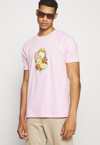 Obey Clothing - EARTH PROPAGANDIST - T-Shirt print - pink - 3