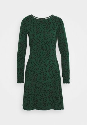 NON PRINT - Jersey dress - green