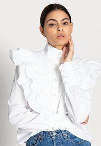 Custommade - BIBI - Bluzka - bright white - 3