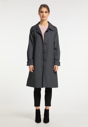 Classic coat - dunkelgrau