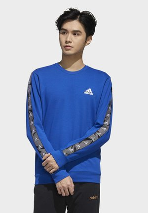 ESSENTIALS TAPE SWEATSHIRT - Sweater - blue