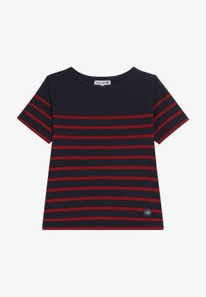 MARINIÈRE ETEL KIDS - T-shirt z nadrukiem - navire/braise