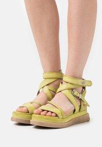 A.S.98 - Platform sandals - zen - 0