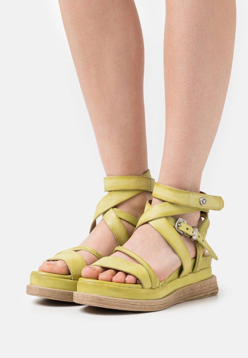 A.S.98 - Platform sandals - zen