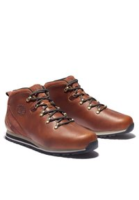 Timberland - SPLITROCK - Sportieve veterschoenen - md brown full grain - 1