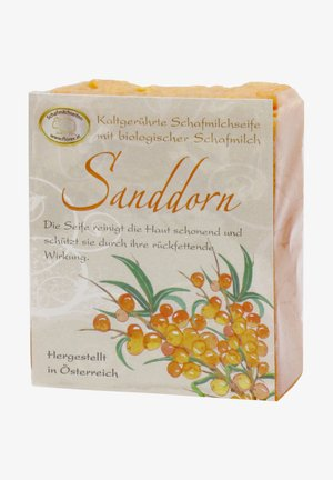 BIO SCHAFMILCHSEIFE SANDDORN 150 G  - Soap bar - orange