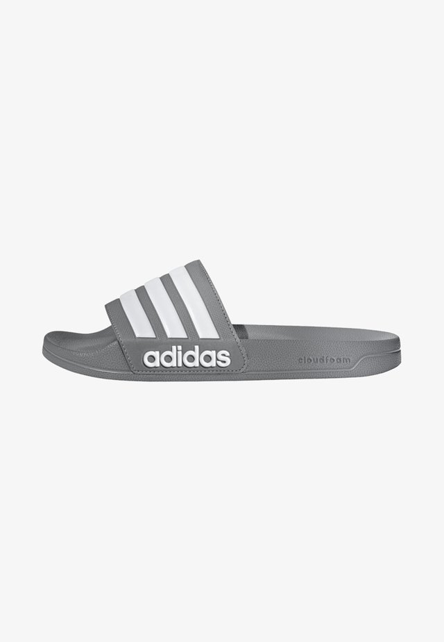 ADILETTE CLOUDFOAM SLIDES - Badslippers - grey