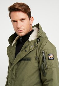 Superdry - WINTER AVIATOR  - Parka - deep depths - 3