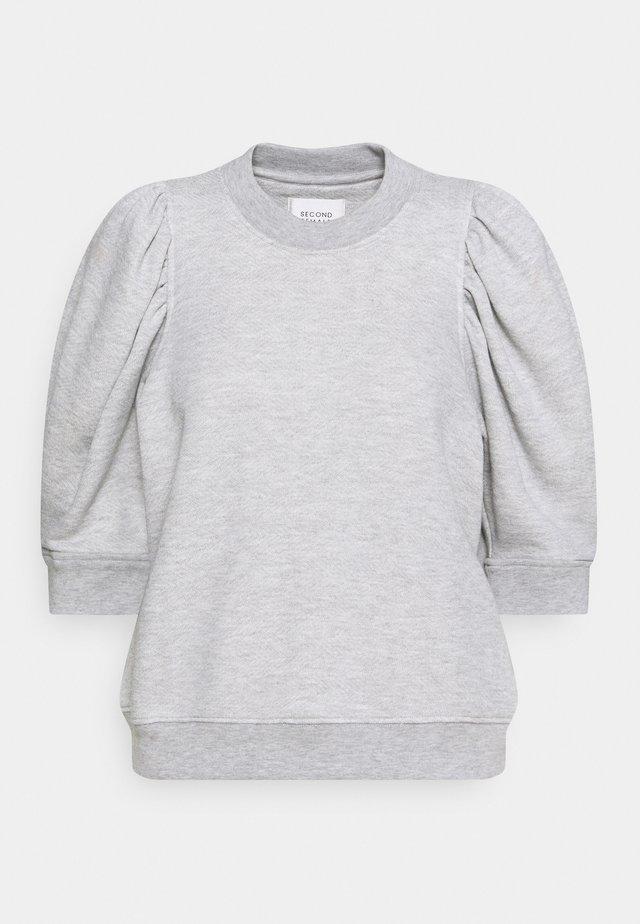 DAWNI TEE - T-shirt imprimé - grey melange
