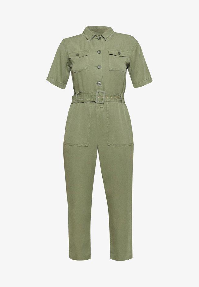Overall / Jumpsuit /Buksedragter - safari green