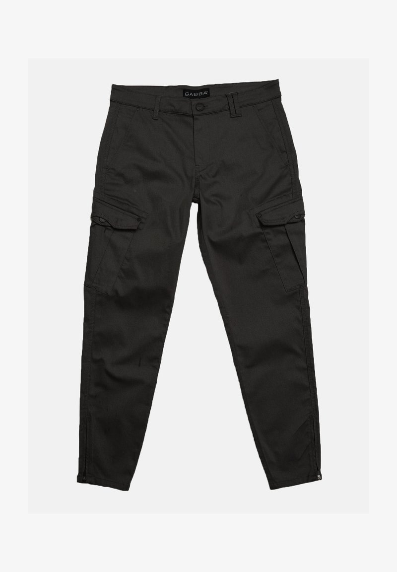 Gabba - Cargo trousers - black