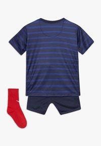 Nike Performance - FRANKREICH FFF I NK BRT KIT HM SET - Pelipaita - blackened blue/white - 1
