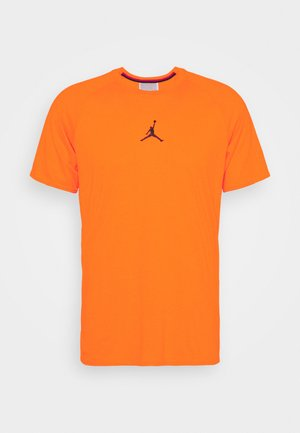 AIR - T-shirt con stampa - total orange/black
