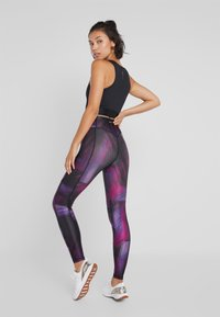 ONLY Play - ONPGOLDIE TRAINING - Leggings - black/rave - 2