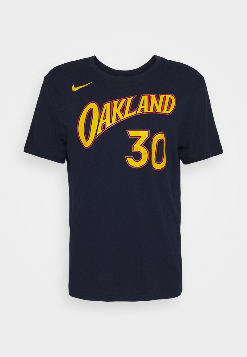Nike Performance - NBA GOLDEN STATE WARRIORS STEPHEN CURRY CITY EDITION NAME - Club wear - college navy