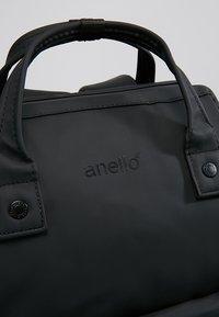 anello - MATT TOTE BACKPACK - Tagesrucksack - black - 7