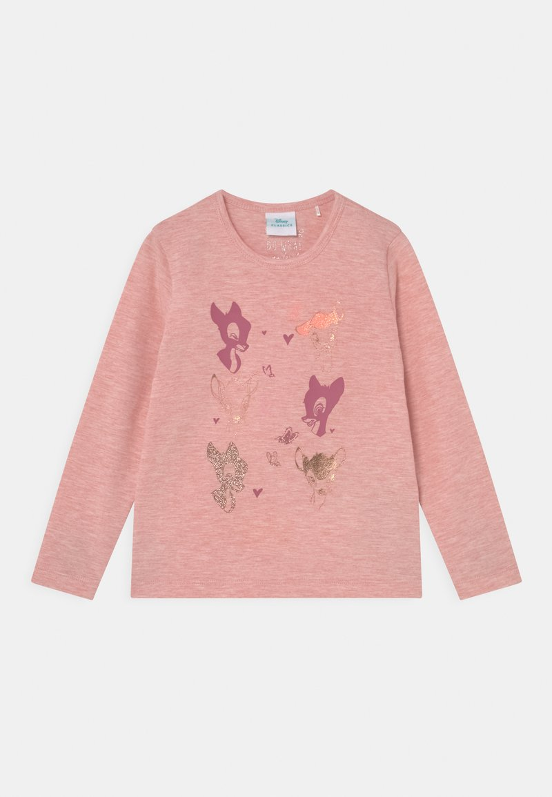 Staccato - DISNEY BAMBI - Maglietta a manica lunga - rose melange