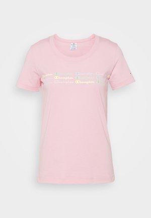 CREWNECK - T-shirt imprimé - pink