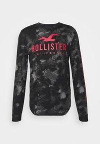 Hollister Co. - ICONIC - Långärmad tröja - black wash - 5