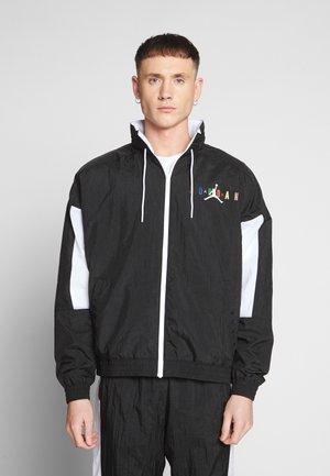 M J DNA HBR - Sportovní bunda - black/white