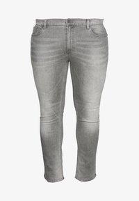 Burton Menswear London - BIG KOREA - Slim fit jeans - light grey - 3