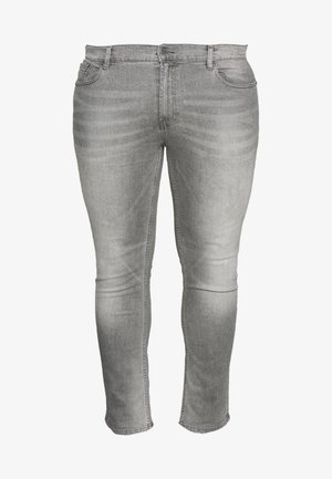 BIG KOREA - Slim fit jeans - light grey