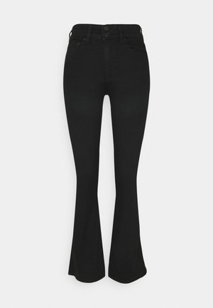 HI RISE ARTIST  - Flared Jeans - black