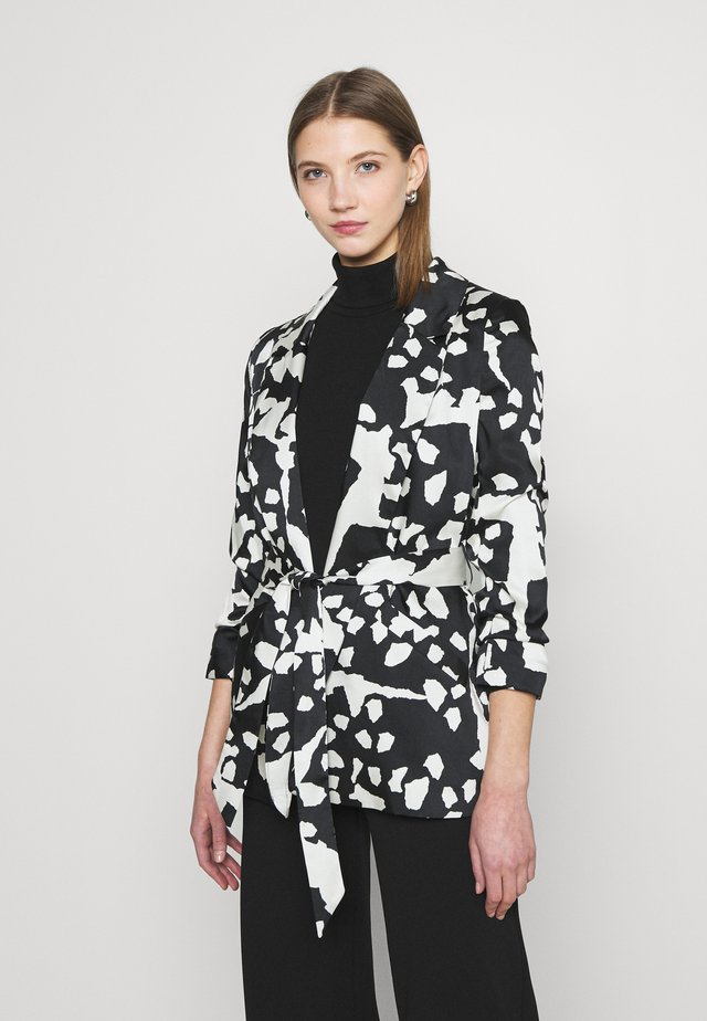 SOFT BELTED  - Blazer - black