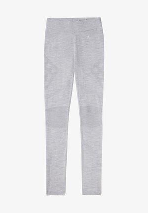 LIGHTWEIGHT INTRAKNIT 200 BASELAYER - Leggings - light gray h/white