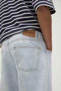 PULL&BEAR - Straight leg jeans - blue - 4