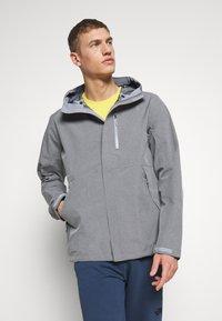The North Face - M DRYZZLE FUTURELIGHT JACKET - Hardshell jacket - medium grey heather - 0
