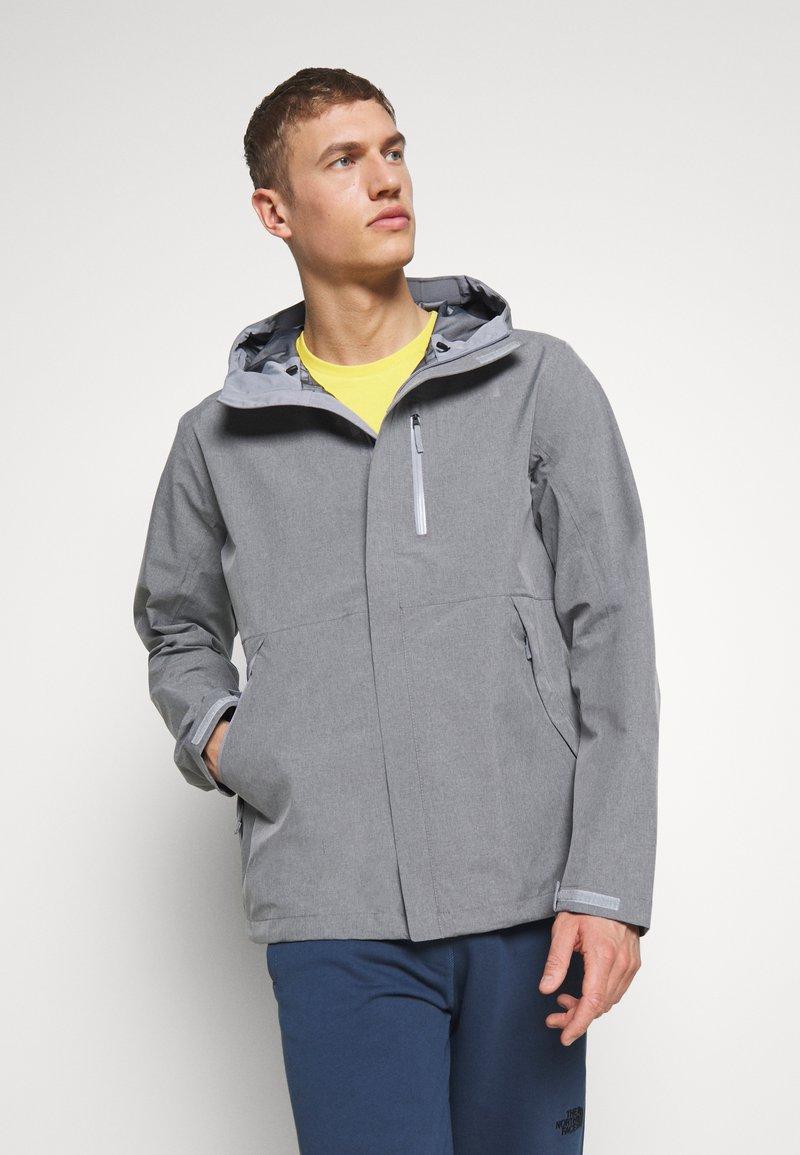 The North Face - M DRYZZLE FUTURELIGHT JACKET - Veste Hardshell - medium grey heather