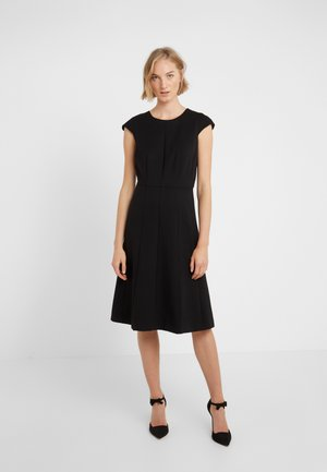 MATHILDE DRESS STRETCH SUITING - Vestido ligero - black