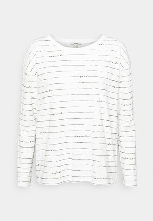 BOATY NECK  - Long sleeved top - off white