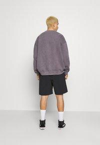 Quiksilver - NATIVE WALKSHORT - Shorts - black - 2