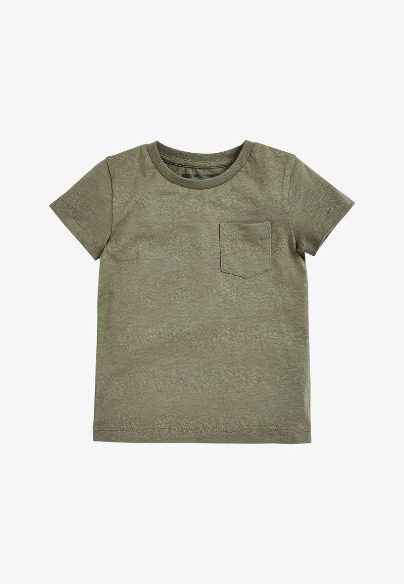 Next - SHORT SLEEVE - Camiseta básica - khaki