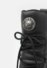 New Rock - UNISEX - Bottes à lacets - black - 5