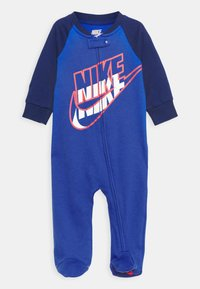 Nike Sportswear - FULL ZIP FOOTED COVERALLS - Sleep suit - game royal - 0