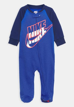 FULL ZIP FOOTED COVERALLS - Kruippakje - game royal